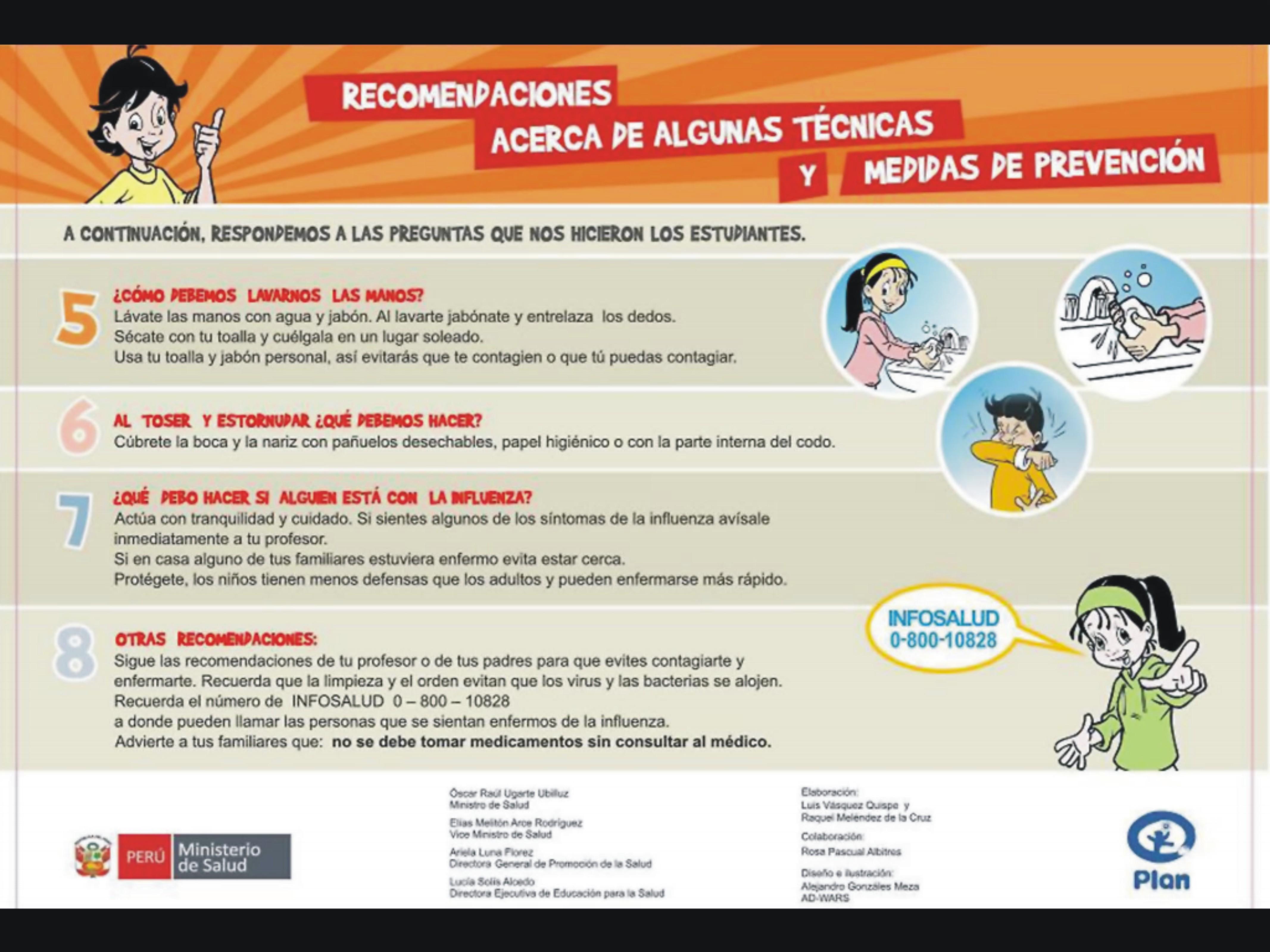 Noticias iep la villa de san francisco for Ministerio de salud peru